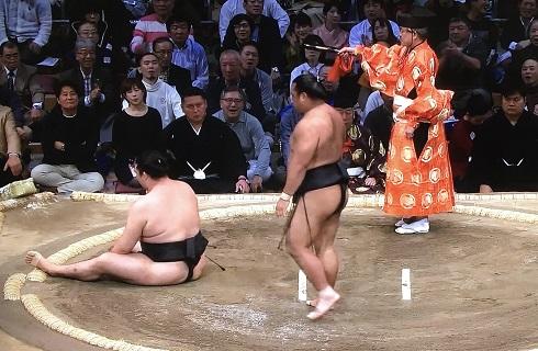 竜電 vs 松鳳山