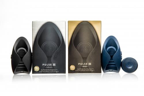 PULSE3のSOLOとDUOの商品と箱の写真