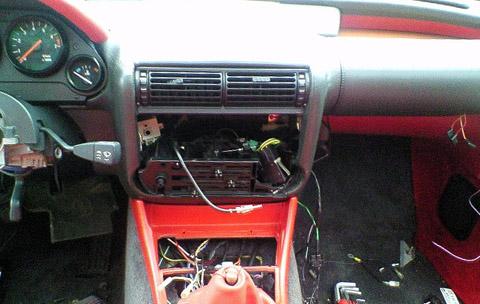 BMW Z1 ダッシュボード