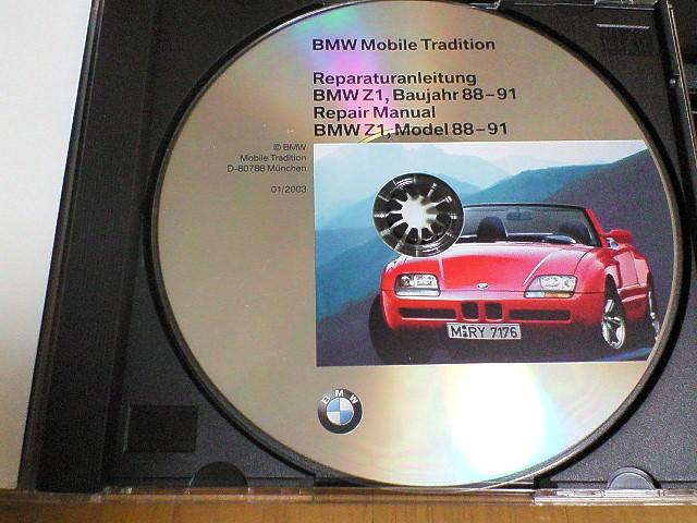 bmw z1 repair manual cd bmw z1 blog. Black Bedroom Furniture Sets. Home Design Ideas