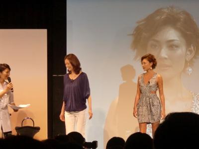 田丸麻紀さんとLIZAさん