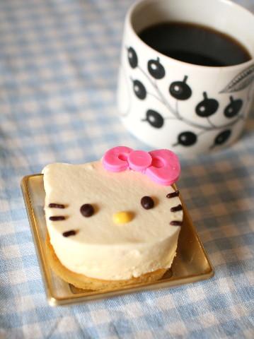 キティーちゃんチーズケーキ