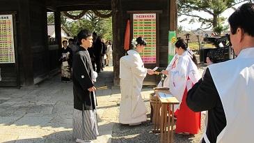 吉備津彦神社の手水の儀
