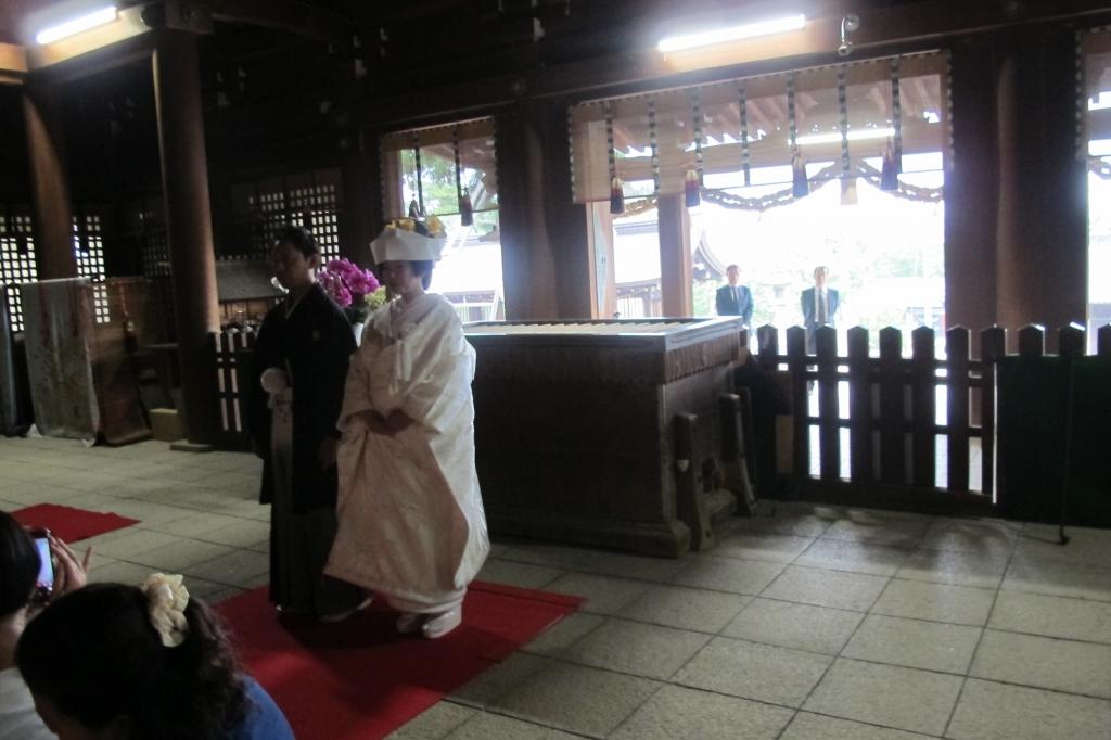 吉備津彦神社の社殿の中