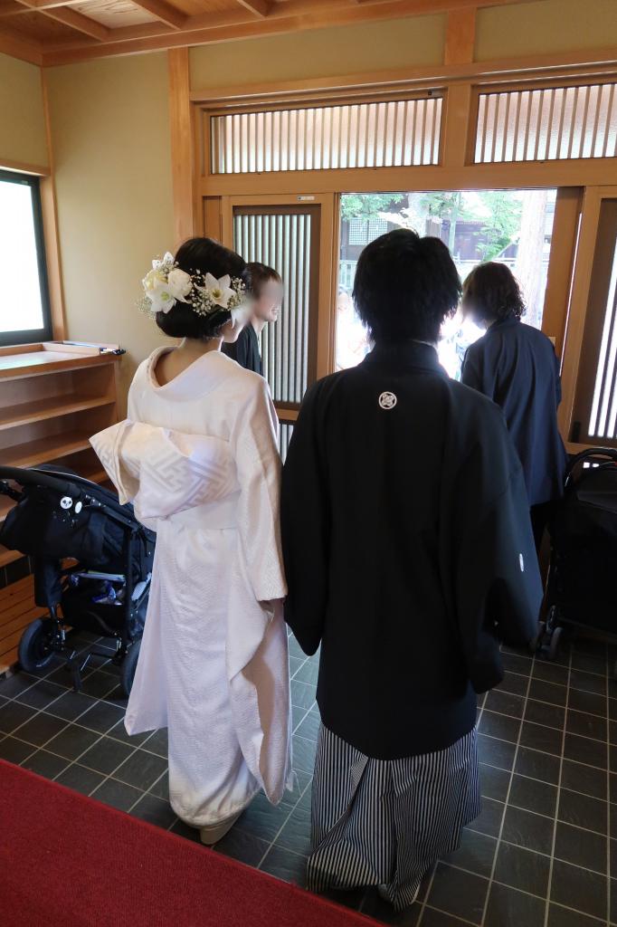 吉備津彦神社の挙式スタート