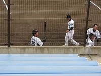 信濃戦g試合前の選手たち