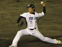 富岡投手、復活
