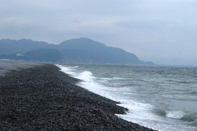海岸線。。太平洋・・