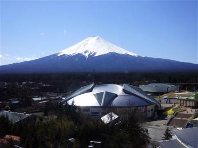 富士急ハイランド:富士山