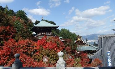 紅葉の大聖院