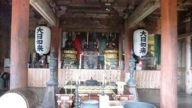 大日堂の仏像