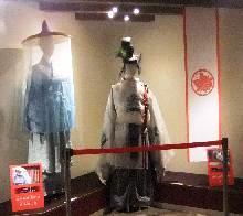衣装の展示