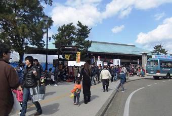 宮島牡蠣祭り