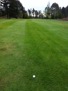 ゴルフラウンド1