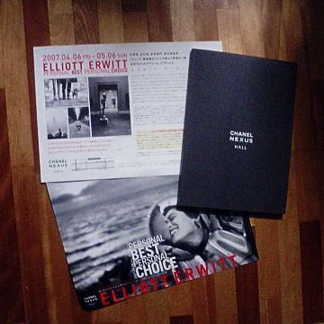 Vol.265 エリオット・アーウィット写真展 〜 銀座シャネル・ネクサス・ホール