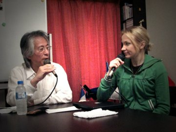 Vol.344 Eva Alkula インターネットラジオ収録 〜 神保町にて