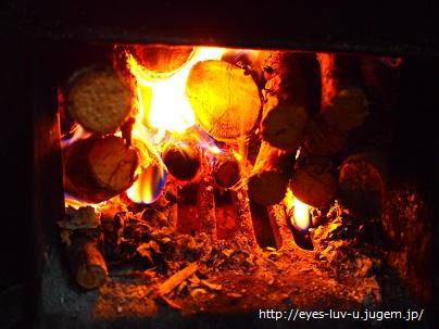 薪を燃やすのがすき