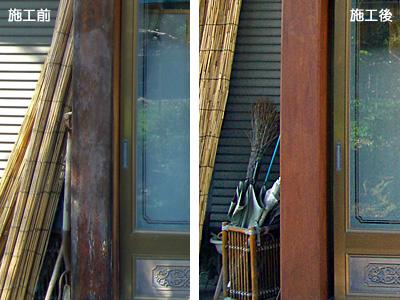 玄関柱1ポイント
