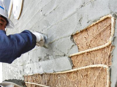 蔵土壁補修