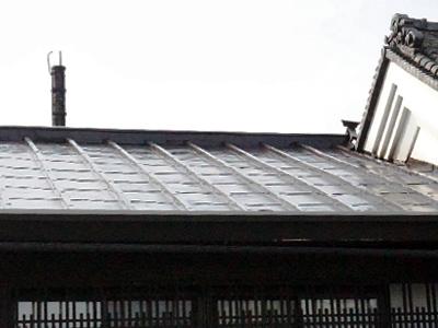 上田,屋根塗替え