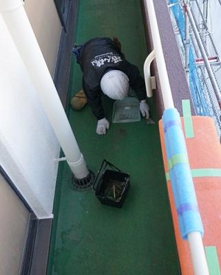 上條記念病院 防水塗装
