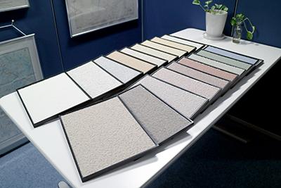ミラクル セラ ストーン塗装色見本板