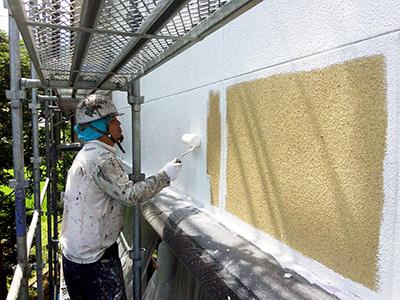 バルーンウォール外壁下塗り1
