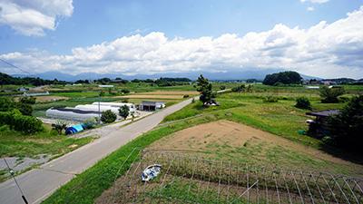 長野県諏訪郡原村の景色