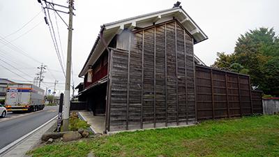 国指定重要文化財 小野家住宅施工前2