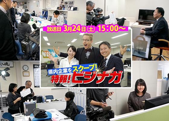 ビジナガTV放映告知