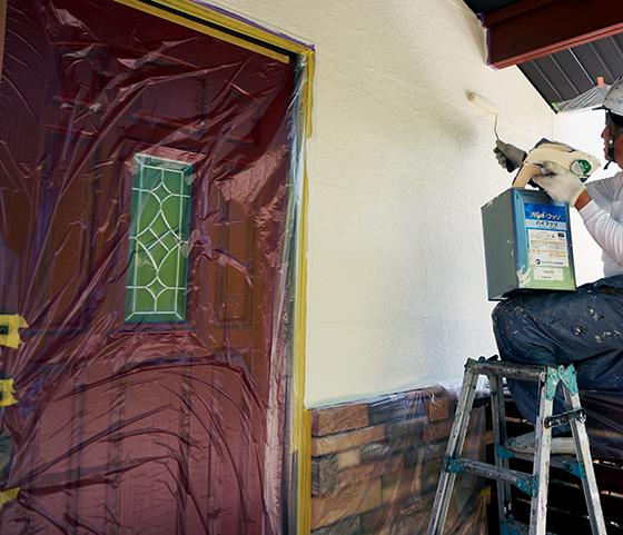 外壁上塗り3