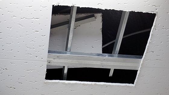 天井換気口工事