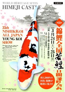 第35回錦鯉全国若鯉品評会