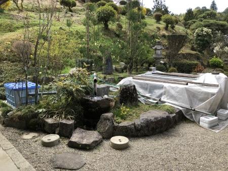 お客様の庭