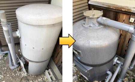 強制濾過装置 湧清水10型
