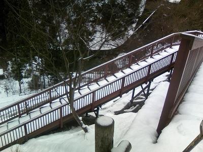 雪の引原ダム