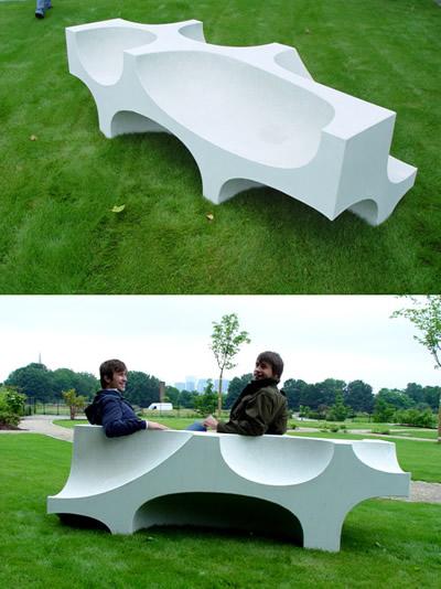 designed bench