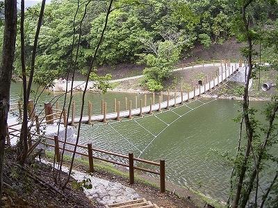 引佐湖吊橋1