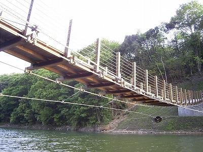 引佐湖吊橋2