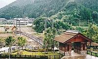 川代公園吊橋(兵庫県山南町)