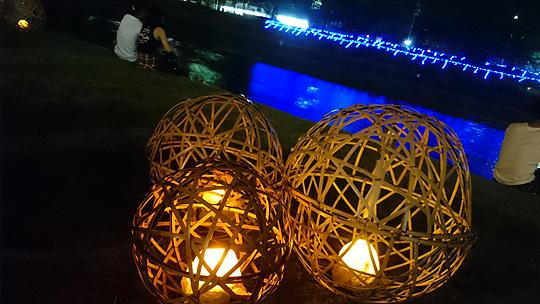 鴨川ライトアップ
