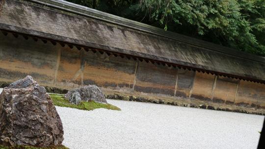 枯山水の石庭