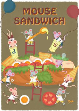mouse sandwich