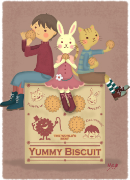 yummy biscuit