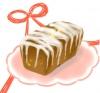 ドライフルーツ入りバターケーキ