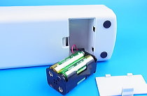 パワーポンプの電池ボックス