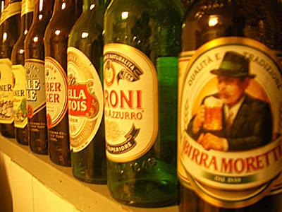 BIRRA MORETTI  イタリアビール