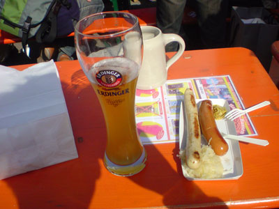 日比谷公園オクトーバーフェスト ドイツビール エルディンガー erdinger Bitburber ビットブルガー
