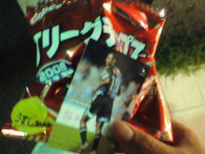 ジュニーニョ Jリーグチップス 川崎フロンターレ カード