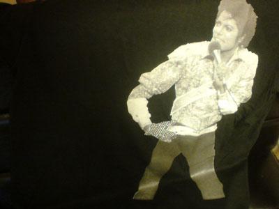 マイケル・ジャクソン Tシャツ Michael jackson